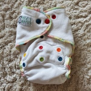 Nicki's Diapers one size fitted cloth diaper